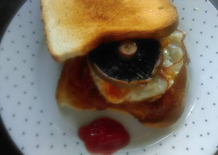 Mandys breakfast sandwich