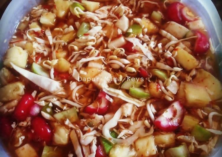 Resep Asinan/Rujak Cuka oleh Dapur Mama Keys - Cookpad