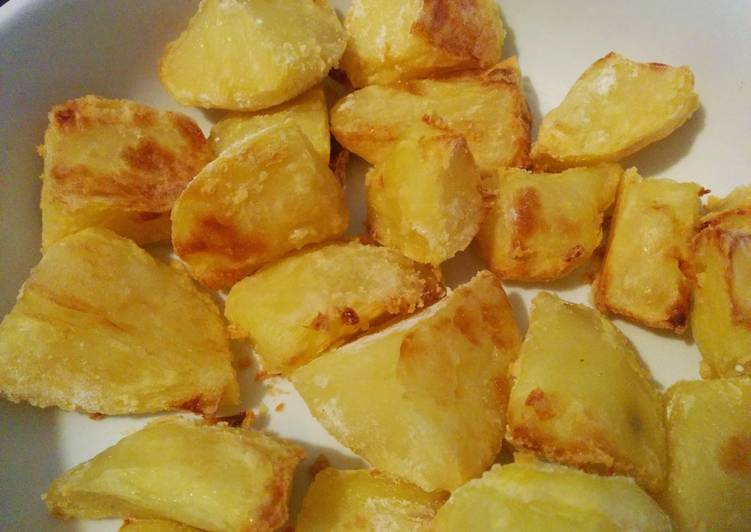 No Compromise Healthier Roast Potatoes