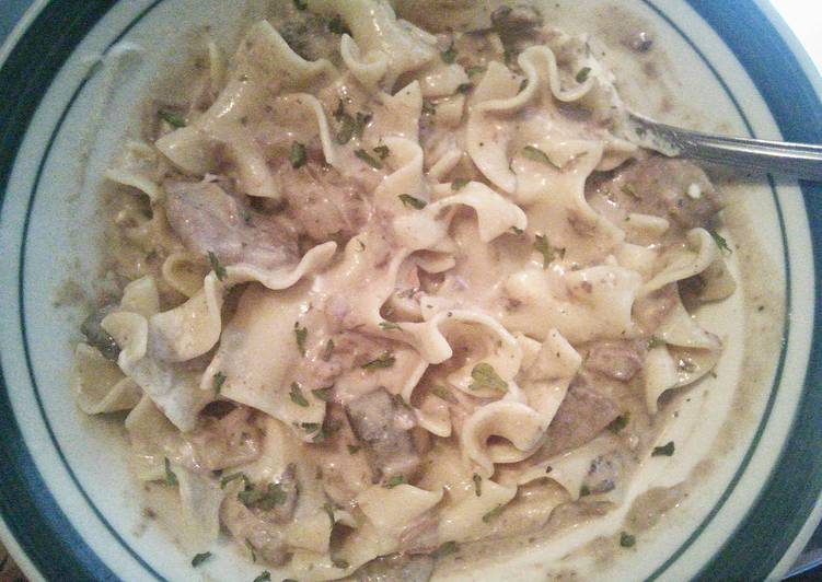 Simple Way to Prepare Speedy Jenny's Crock Pot Beef Stroganoff