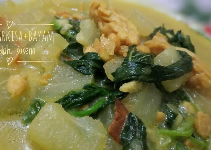 Sayur Bobor Bayam&Manisa |masakan rumahan