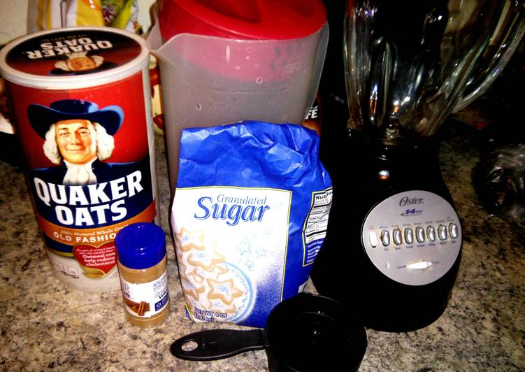 Recipe: Flavorful Oatmeal Water (Healthy Benefits)