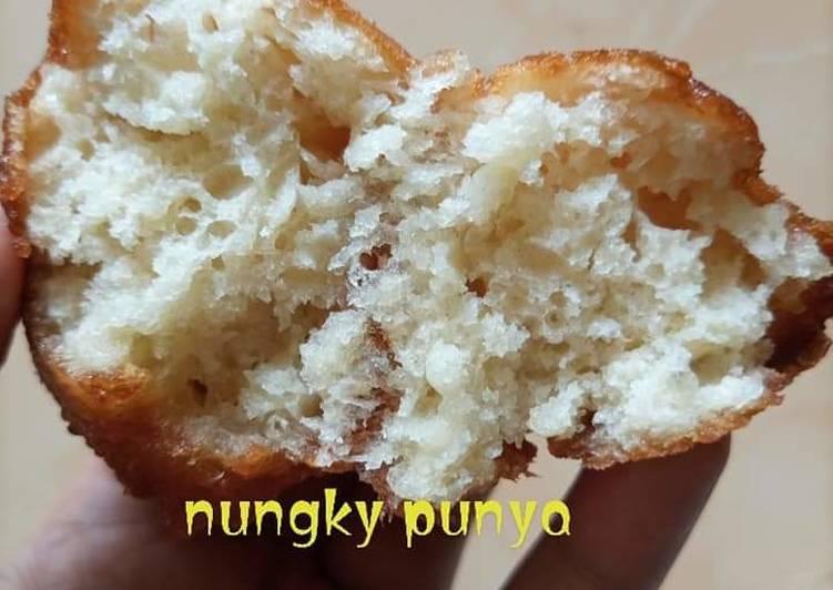 Cara Mudah Membuat Kue odading (roti goreng) yang Enak
