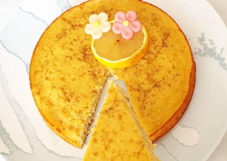 Recette: Moelleux au citron facile