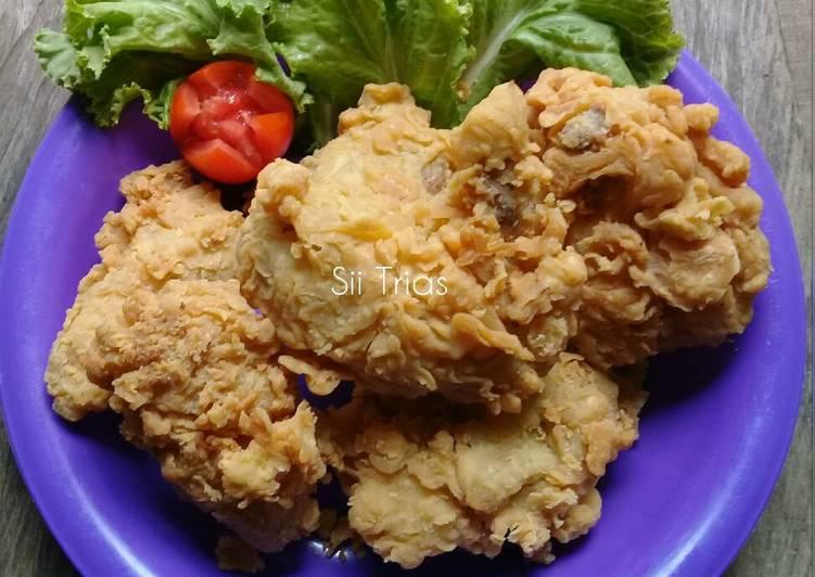 Ayam Goreng Tepung Awet Kriuknya