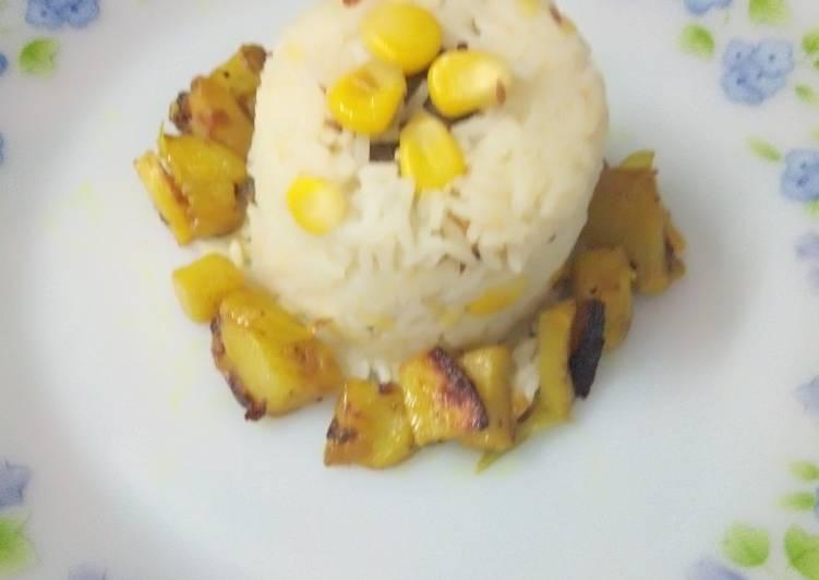 Corn Khichdi