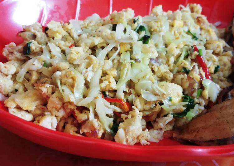 Orak arik telur (diet protein)