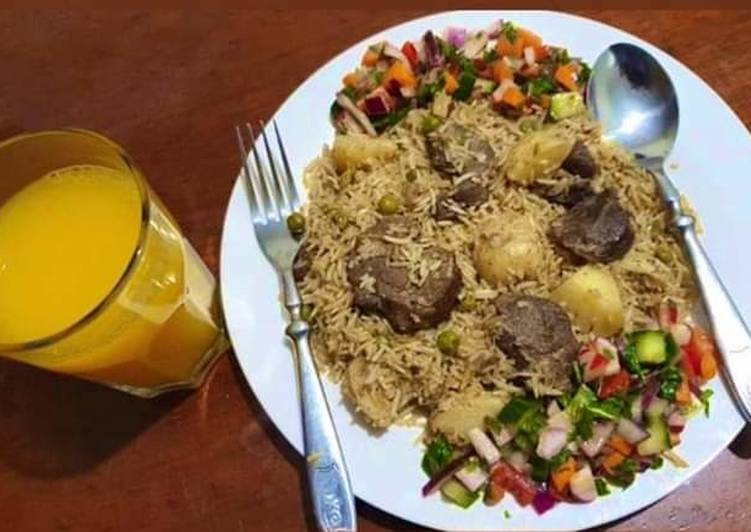 Recipe of Favorite Beef Pulao