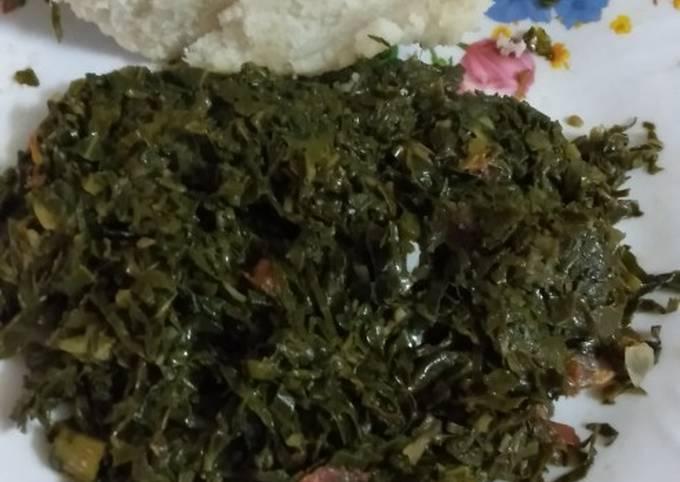 Kienyeji vegetables (managu)