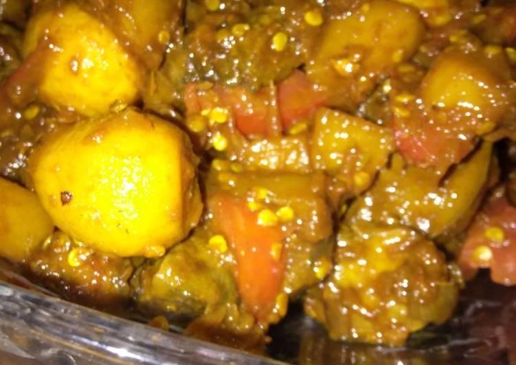 Resep Sambal goreng Ati ampela kentang telur puyuh, Enak Banget