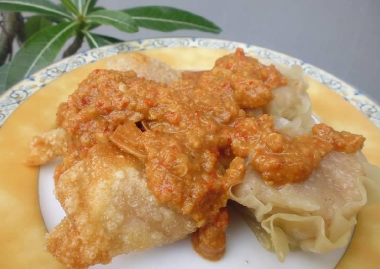 resep cara bikin Siomay & Batagor Bumbu Kacang
