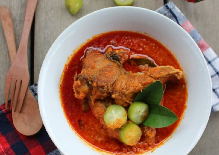 Ikan asam padeh khas Aceh