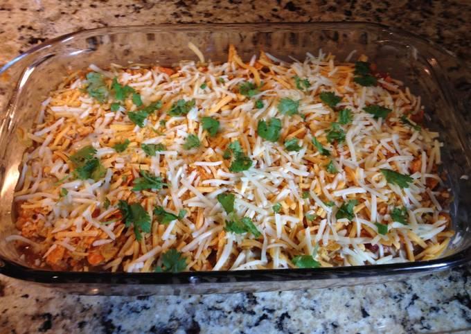 Recipe of Quick Nacho Cheese Dorito Casserole