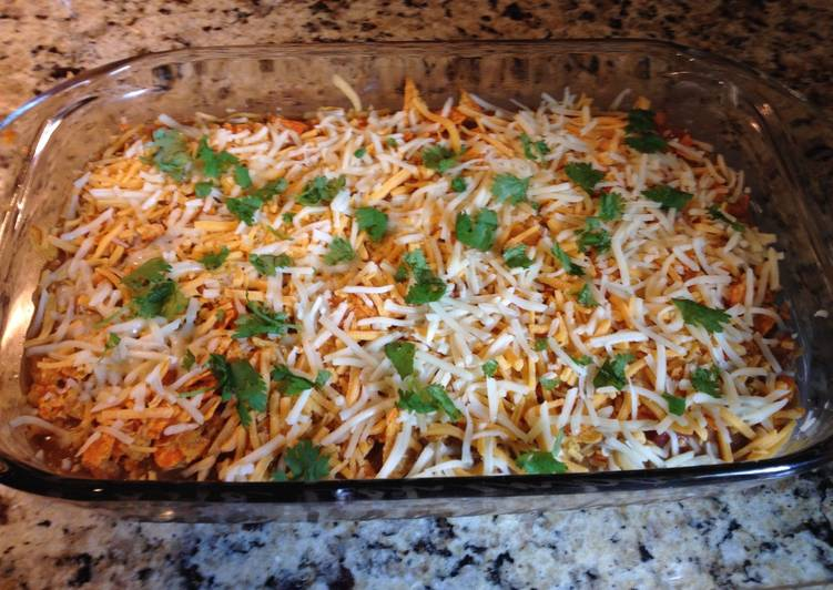 Steps to Prepare Any-night-of-the-week Nacho Cheese Dorito Casserole