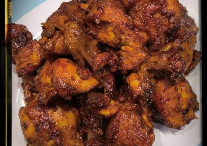 Ayam Kecap Bumbu Ungkep