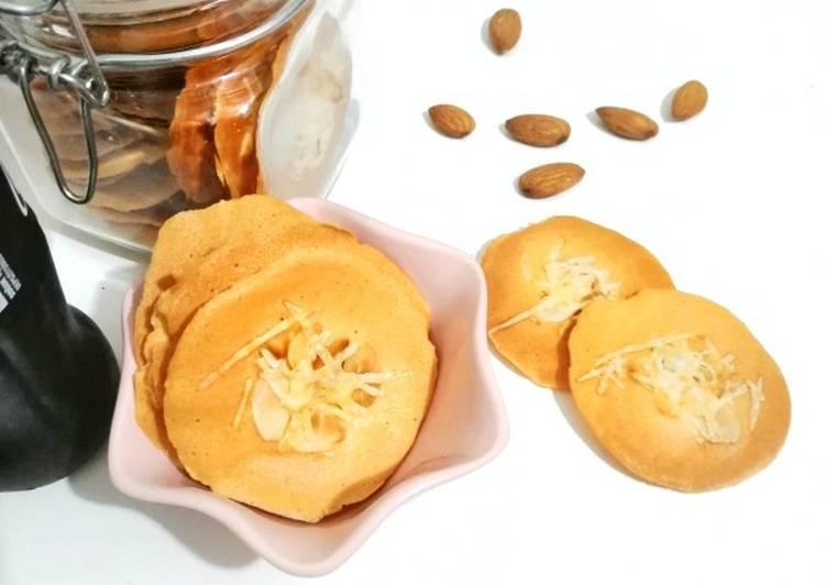 Beautiful Homemade Almond Cookies