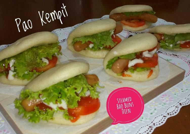 Steamed Bao Buns/Pao Kempit/Pao Sandwich