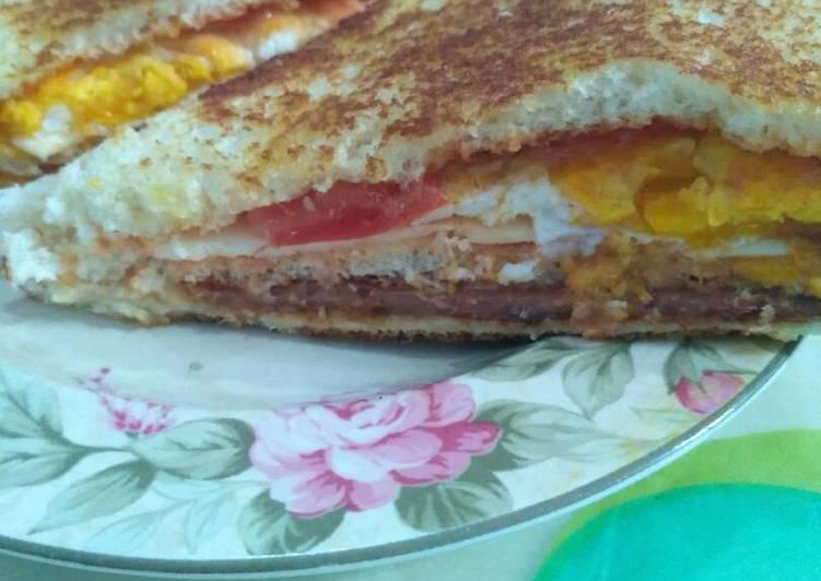 Resep Sandwich Ala Kadarnya (Tanpa Selada) Top