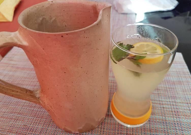 Easiest Way to Make Delicious Boisson rafraîchissante menthe citron