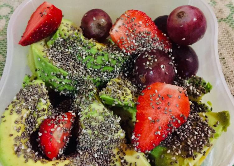 Mix fruit with chiaseed #1