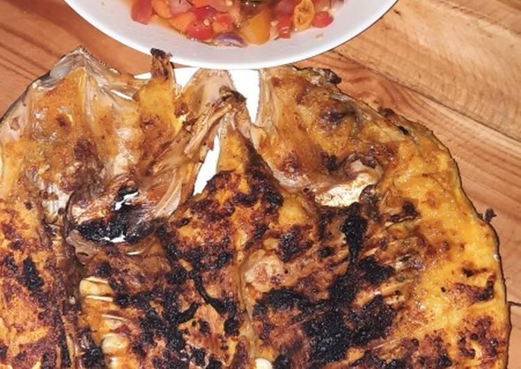Ikan Bakar Sambal Matah
