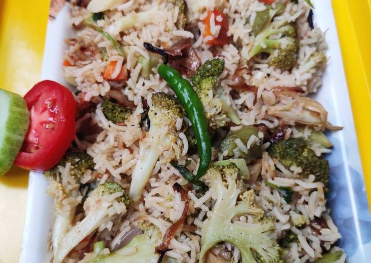 Easiest Way to Make Speedy Broccoli pulao