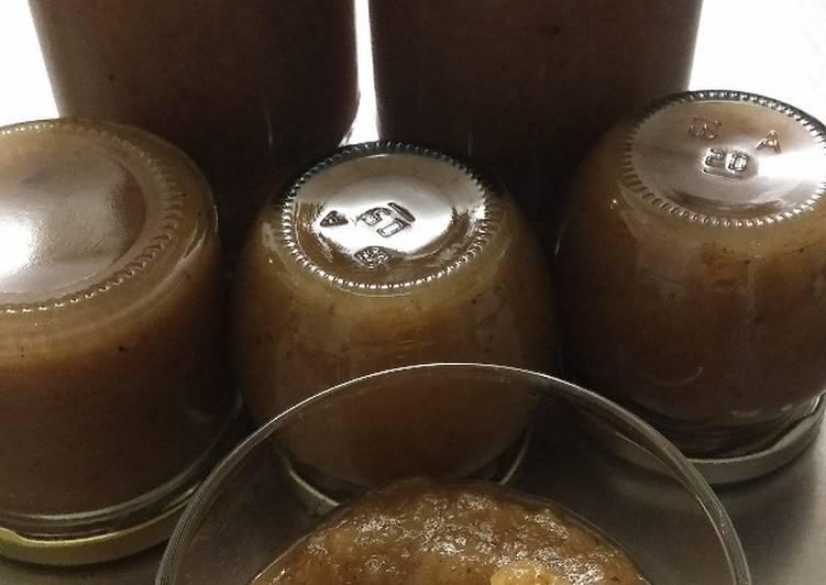 Recette: Confiture poires/pommes/châtaignes à la vanille de Madagascar