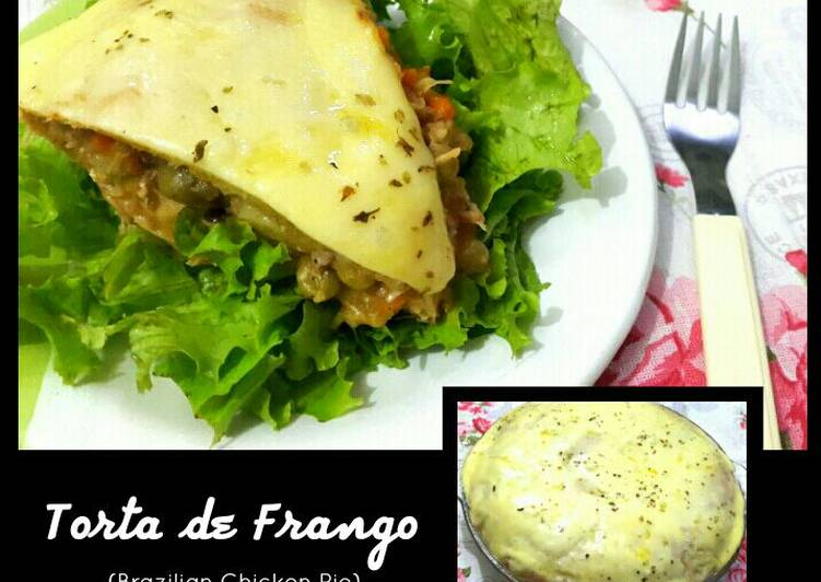 Brazilian Chicken Pie (Torta de Frango)
