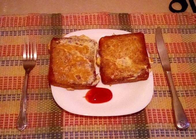 Breakfast Egg bread
