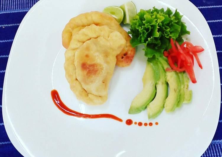 Empanadas de camarón