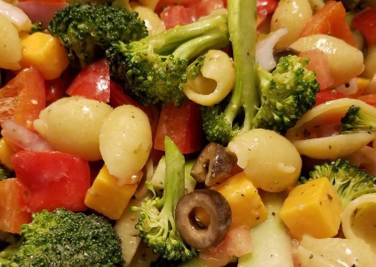 Warmed Pasta Salad