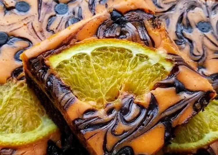"""""""brownies orange"""" #syed munawwar #brownies"""