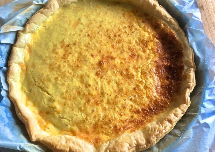 La Meilleur Recette De Quiche aux fromages 🧀