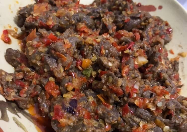 Daging Masak Sambalado