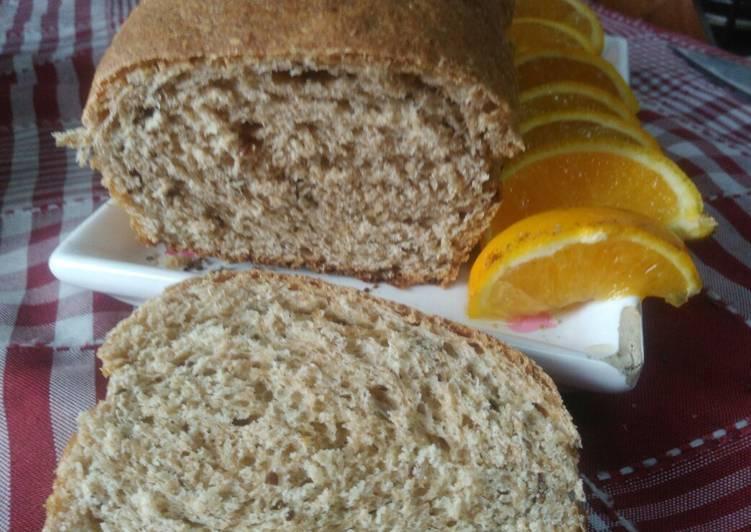 Pan de molde integral sin azucar receta