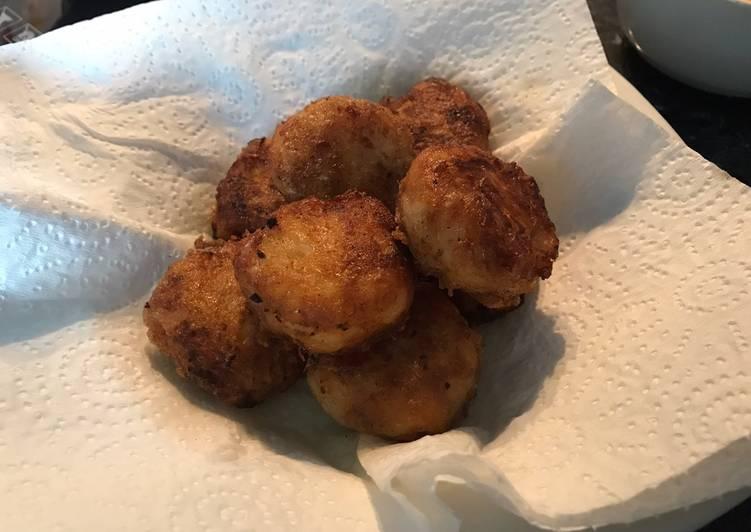 Recipe of Homemade Golden brown potato nuggets