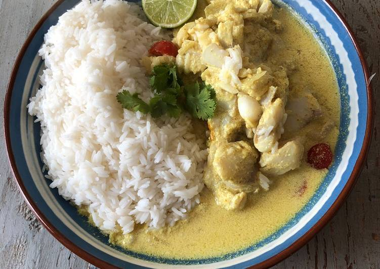 Comment Cuisiner Curry de poisson 🇮🇳