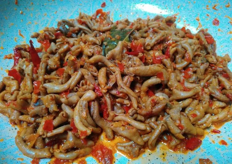 Resep Oseng Usus Ayam Pedas Oleh Lis Cookpad