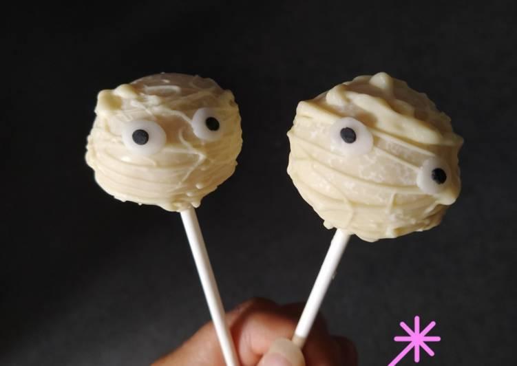 Mumien Cake Pops