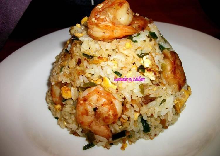 Comment Cuisiner Riz frit aux crevettes