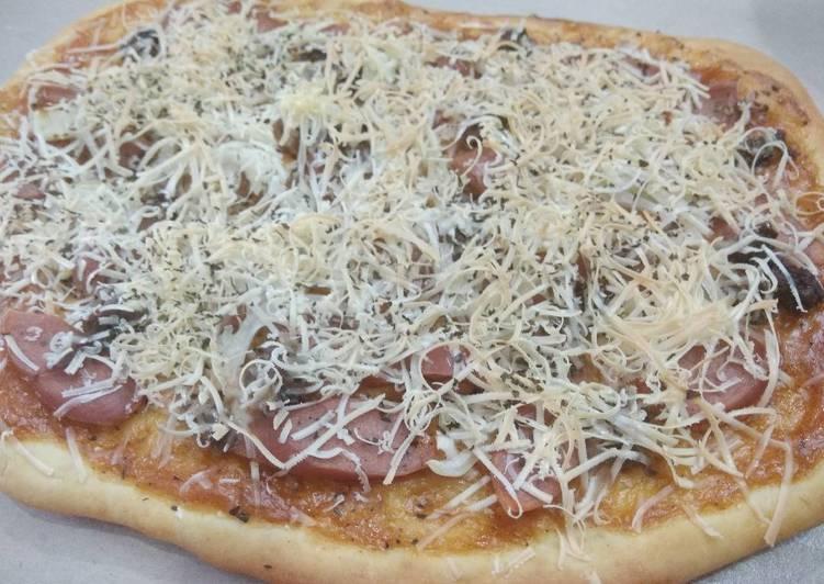 Pizza yahuuttt.