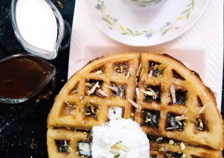Recipe of Super Quick Homemade Homemade Belgian Waffles
