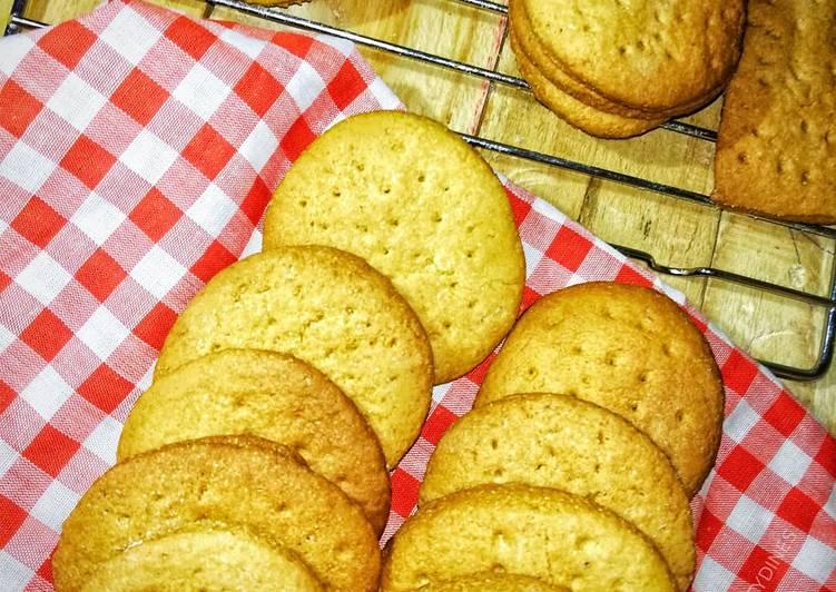 Steps to Make Speedy Homemade Digestive Biscuits #myfirstrecipe