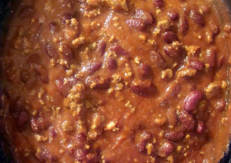 taisen's crockpot chili