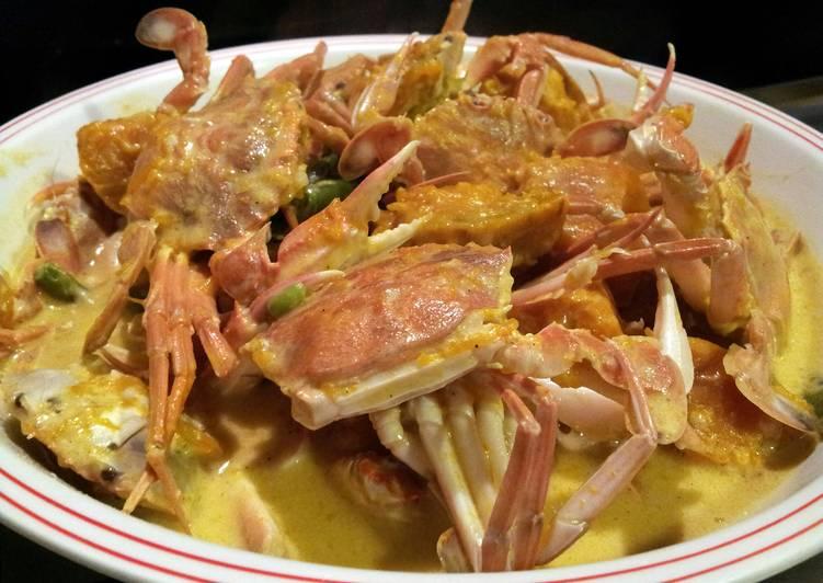 Amies Ginatang Alimasag Crabs With Pumpkin In Coconut Milk Recipe By Armilie Cookpad