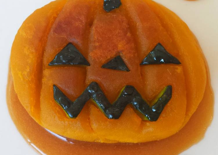 Turn to Food to Improve Your Mood Kabocha Squash Dumplings (Halloween Version)
