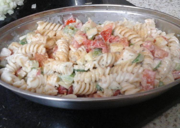 Learn How to Elevate Your Mood with Food My  Tasty  Pasta  Salad  😉😊