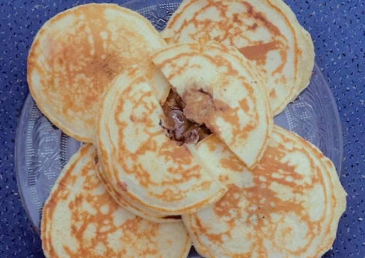 Le moyen le plus simple de Faire Délicieux Pancakes 🥞 au chocolat