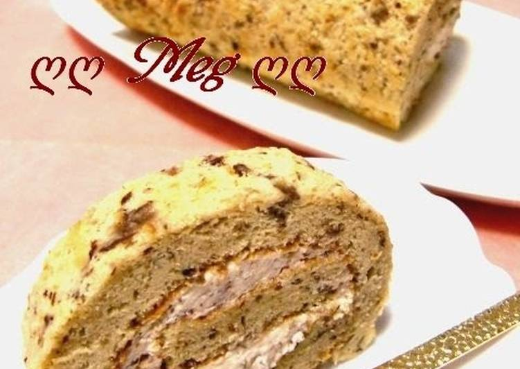 Turn to Food to Boost Your Mood Rum Raisin Roll Cake