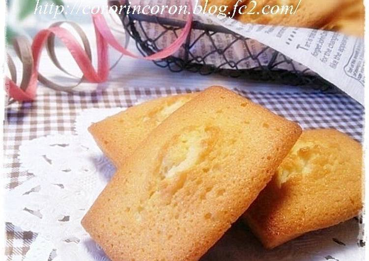 Puffy Financiers To Use Up Egg Whites